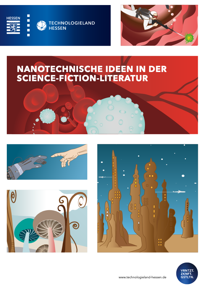 Titelbild Broschüre NANOTECHNISCHE IDEEN IN DER SCIENCE-FICTION-LITERATUR